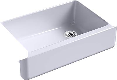 Kohler K-5827-GRL Whitehaven Kitchen Sink, LavenderGrey