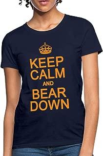 Keep Calm Bear Down Women's T-Shirt