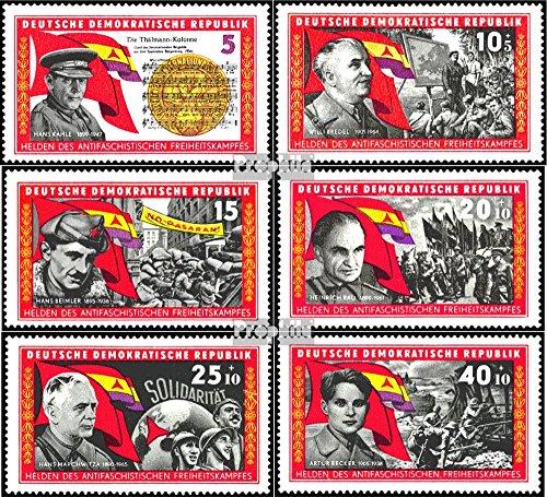 Prophila Collection DDR (RDA) 1196-1201 (Completa.edición) 1966 La Guerra Civil Española (Sellos para los coleccionistas)