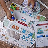 ★ Size:15 BY 10 INCH This Is One Of The First Of Its Kind Innovation… It Teaches Children About Real Life Money Skills In Indian Format.Kids Know About Indian Cash Notes, How To Calculate Total, What Notes To Give When And What Change To Take Back. ★...