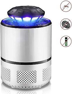Jieer Lámpara Antimosquitos, Fotocatalizador LED Lámpara Antimosquitos Electrodomésticos Antirradiación Electrónico Repelente de Mosquitos Antimosquitos Adecuado para Mujeres Embarazadas
