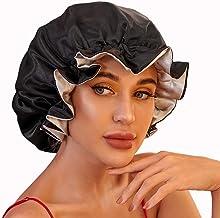 VVolf Silk Bonnets for Women, Satin Bonnet for Natural Hair Bonnet for Sleeping Cap Satin Hair Bonnets for Black Women Sil...