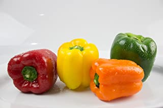 Sweet Pepper Bell Mix Rainbow Seeds Vegetable for Planting Giant Non GMO 30 Seeds