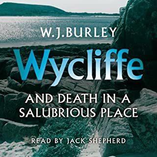 Wycliffe and Death in a Salubrious Place cover art