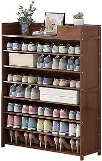Étagère à Chaussures Porte-Chaussures à 8 Niveaux Grand Organisateur de Porte-Chaussures avec tiroirs Organisateur de Rang...