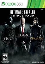 Ultimate Stealth Triple Pack (Thief, Hitman: Absolution, Deus Ex: Human Revolution)- Xbox 360