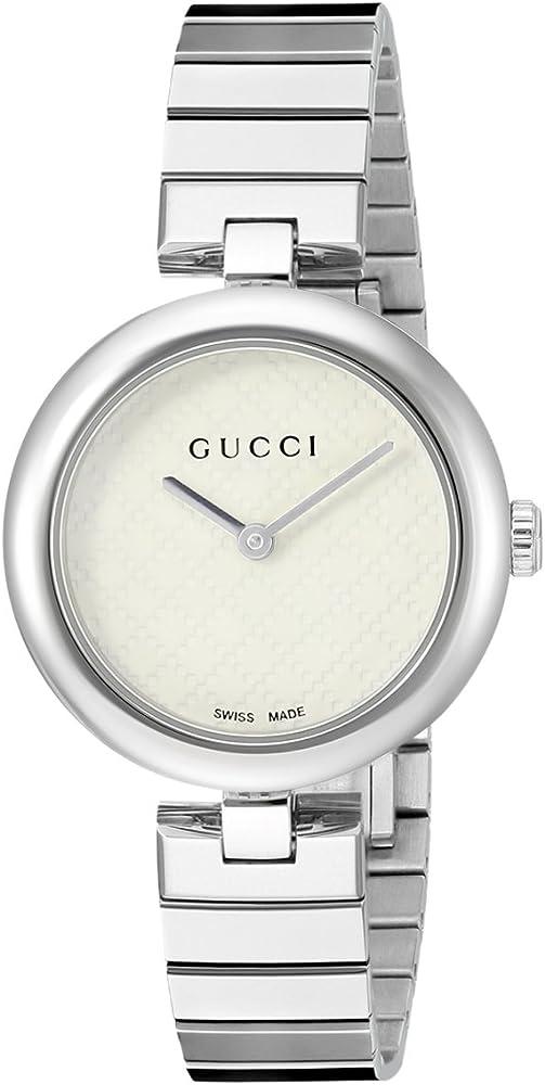 Gucci, orologio per donna, in acciaio argentato YA141402