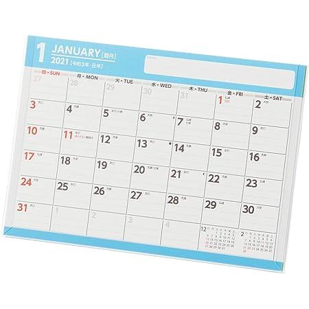 能率 NOLTY 2021年 カレンダー 卓上 38 B6 C238