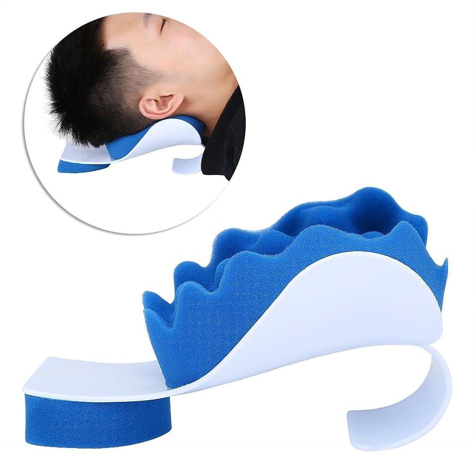 ヒット見せますアラブマッサージ枕 首ストレッチャー ネック枕 ツボ押し リラックス ストレス解消 頚椎/首筋矯正 首筋押圧 肩こり 首こり 改善