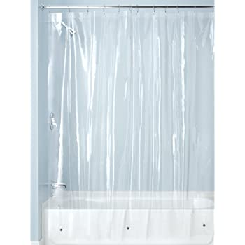AmazonBasics - Forro transparente de PVC para cortina de ducha ...