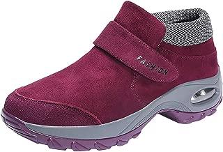 VonVonCo Shoes Elastic Durable Yoga Surf Sports Brogues Women's Fashion Casual Wedge Platform Air Sneakers Thick Bottom Shake