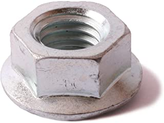Carton: 250 pcs 1//2-13 Large Flange Hex Flange Locknuts//Serrated//Steel//Zinc