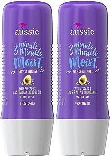 Aussie Moist 3 Minute Miracle Moist Deeeeep Liquid Conditioner - 8 oz - 2 pk