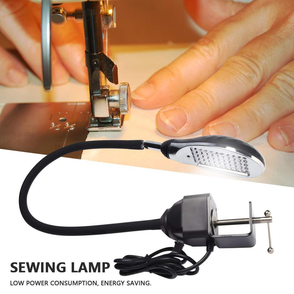 Zyyini Luz de Costura, 8W 50 Cuentas LED Ajustable Luz de Trabajo ...