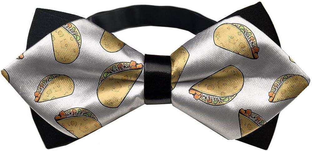 Men's Pre-Tied Bowties Polyester Adjustable Bow Tie, Tuxedo Creative Bow Ties