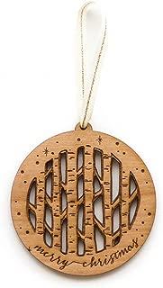 Birch Trees Laser Cut Wood Ornament (Christmas/Holiday/Keepsake/Tradition)