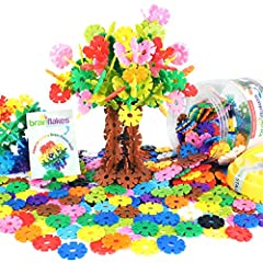 The Original Brain Flakes! | Includes over 500 interconnecting discs and a durable plastic jar for easy storage! | Every set comes with an idea booklet with instructions to build a Brain Flakes ball! | Discs easily click together for ages 5+ (some ch...