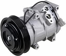 AC Compressor & A/C Clutch For Honda Odyssey Pilot Ridgeline Accord V6 Acura TL MDX - BuyAutoParts 60-01714NA NEW