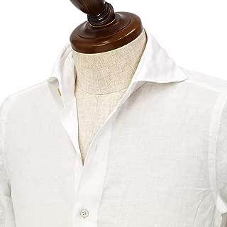 [Finamore【フィナモレ】]シャツ PIERO BALI P2050 1 リネン ホワイト