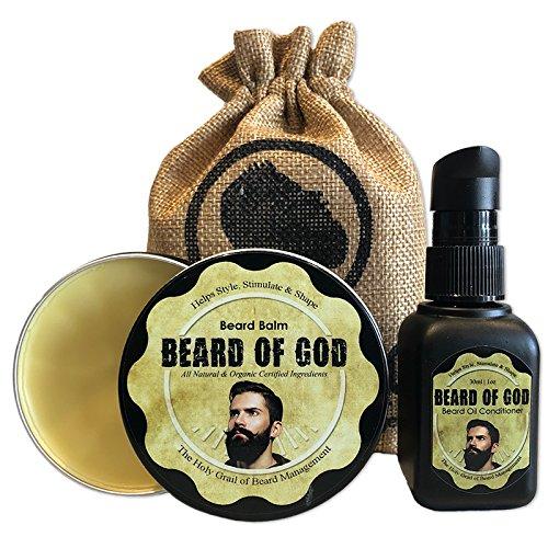 Dark Orchid - 1oz Beard Oil + 2oz Balm Conditioner & Sack - 2PK