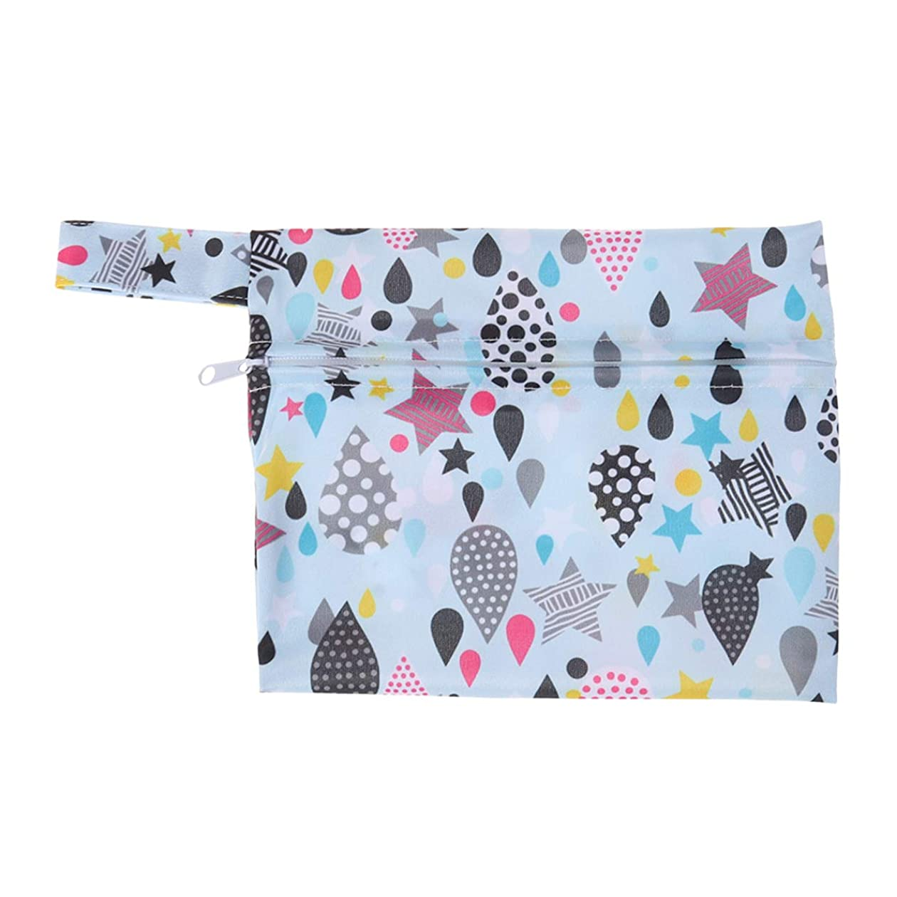 ナプキン商品主観的SUPVOX 女の子のためのジッパーサニタリーパッドオーガナイザーポーチ付き生理用ナプキンバッグ
