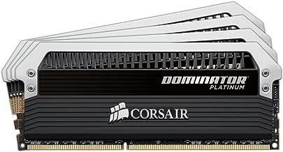 Corsair DOMINATOR Platinum Series 16GB (4 x 4GB) DDR4 2666MHz (PC4 2666) C15 memory kit for DDR4 Systems