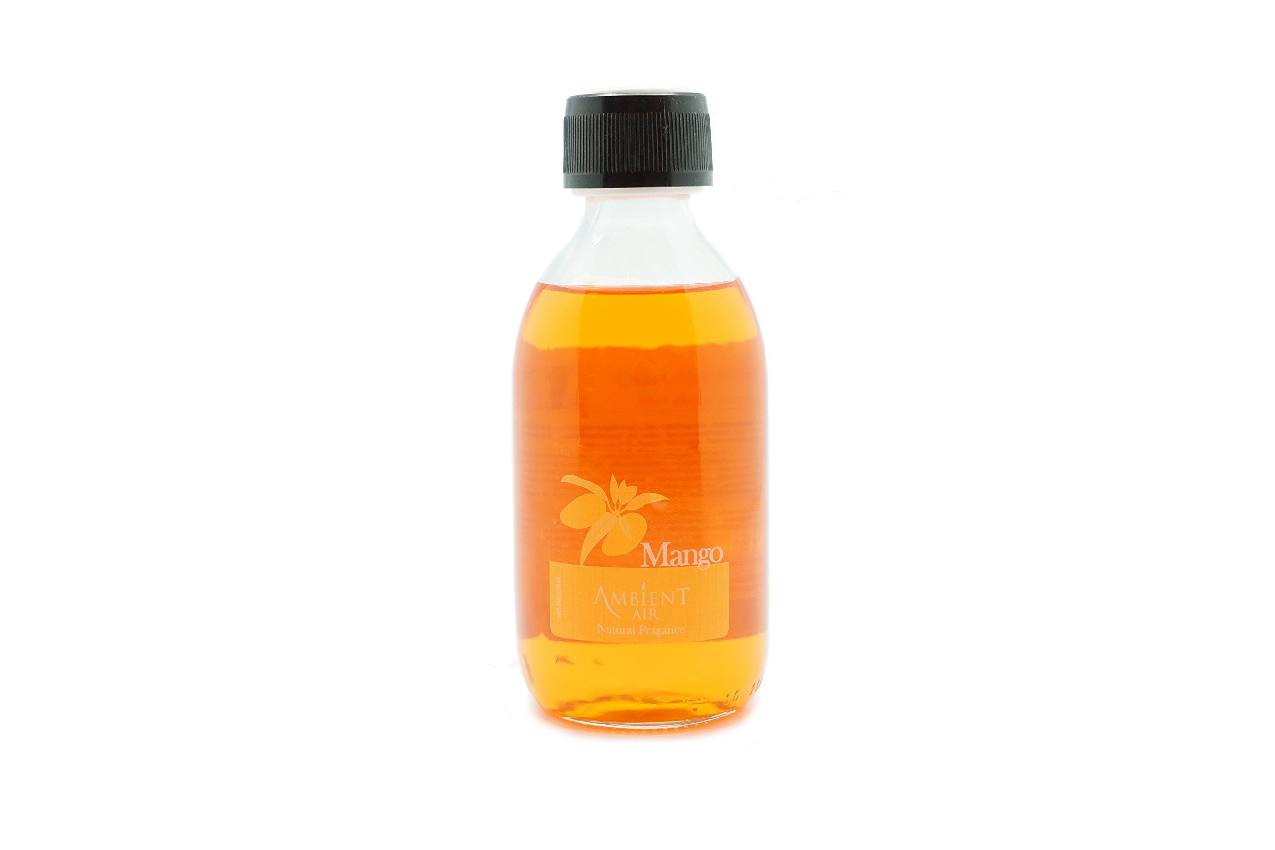 Ambientair RC250MNA Recambio Mikado, Fragancia Mango, Cristal, Naranja, 250 Ml: Amazon.es: Hogar