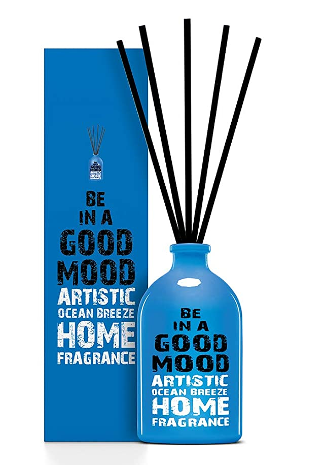 BE IN A GOOD MOOD ルームフレグランス スティック タイプ OCEAN BREEZEの香り (100ml)