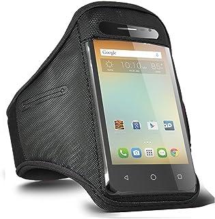 Alcatel Pixi 3/Pixi 4/Alcatel Pop 4/iDol 4 löpning sportarmband gym fitness träning armband täckrem