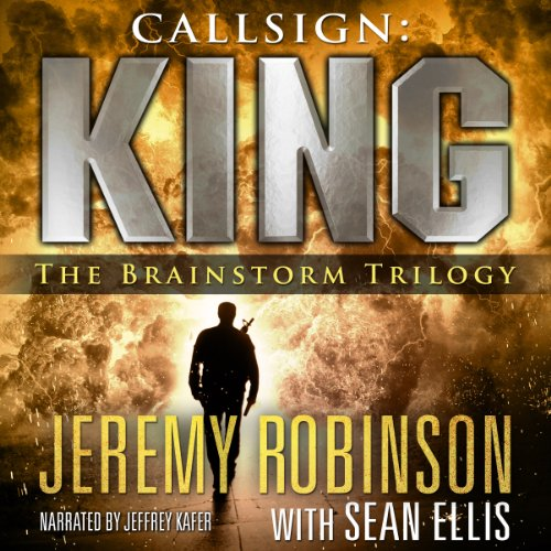 Callsign: King - The Brainstorm Trilogy audiobook cover art