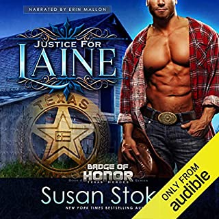 Justice for Laine audiobook cover art