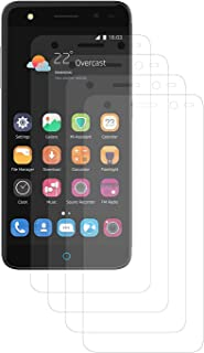 ENERGMiX displayfolie skyddsfolie kompatibel med ZTE Blade V7 Lite folie (4 stycken) – Ultra Clear