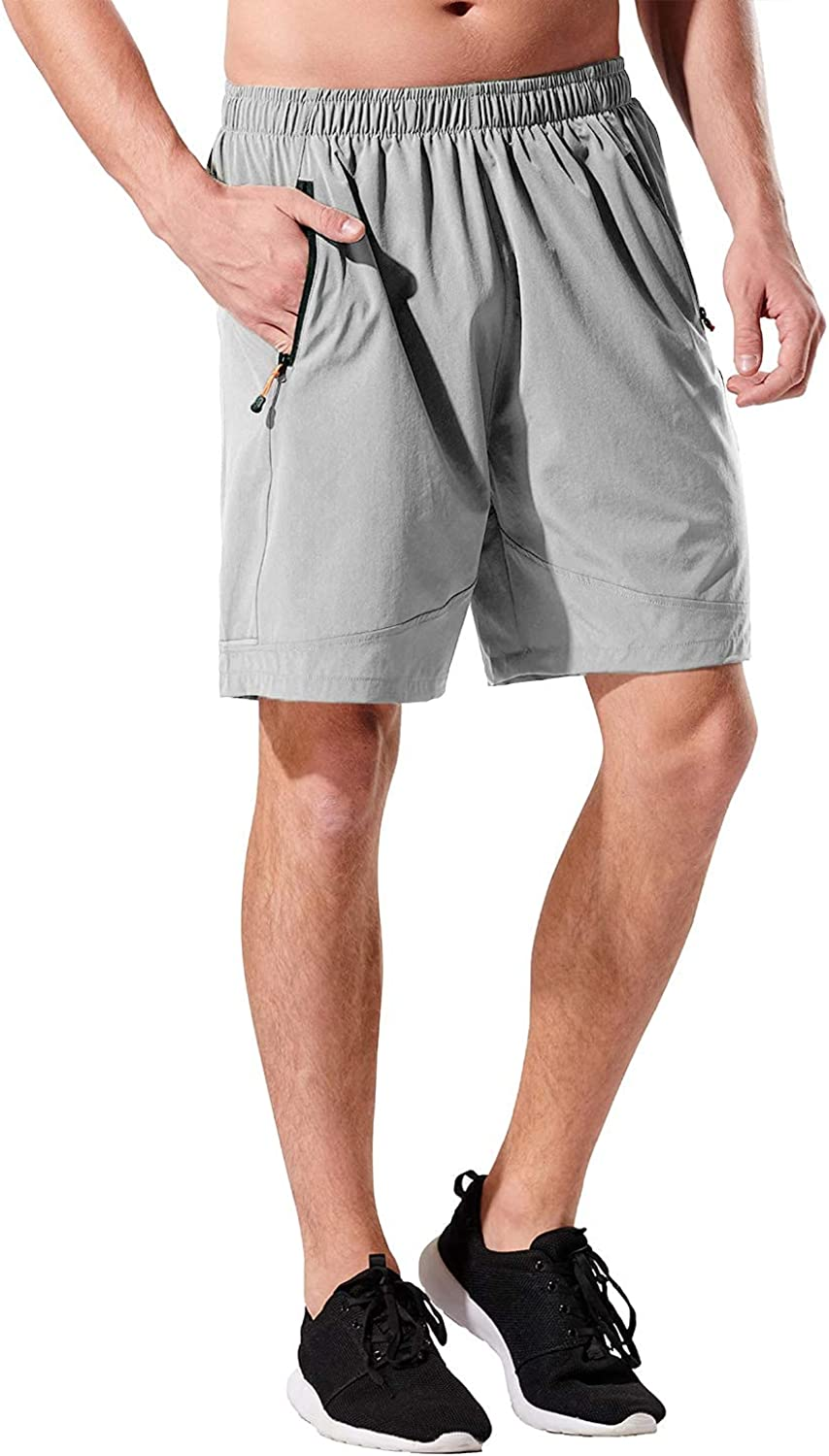 KPSUN online Ranking TOP10 shopping Men's 7 inches Running Athletic G Shorts Workout Quick Dry