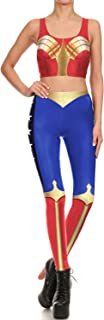 Mad Ink Women Running Yoga Pants & Vest Set Pattern Tights Stretchy Pants Leggings for Girls Teenage Full 3D Print