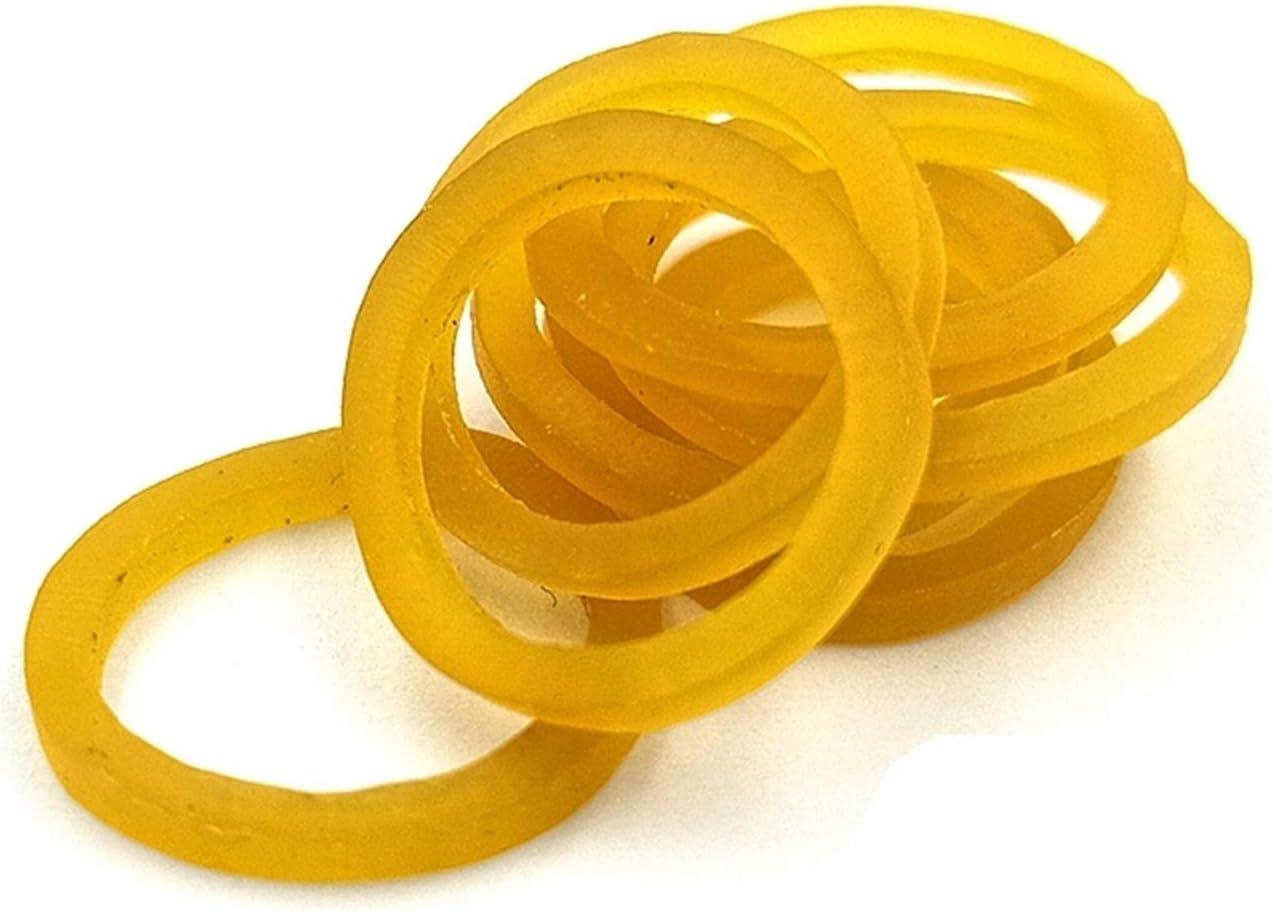 LXQS Popular brand Rubber Band 12mm 50pcs Stationer Sale item Office Ring Elastic