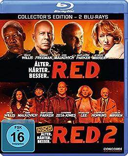 R.E.D. - Älter. Härter. Besser / R.E.D. 2 [Blu-ray] [Collector's Edition]