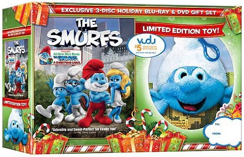 The Smurfs (Blu-ray + Standard DVD …