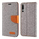 Huawei Honor Magic 2 Case, Oxford Leather Wallet Case with