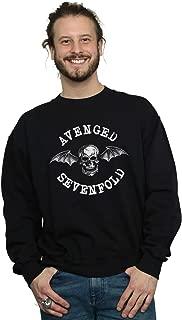 Absolute Cult Avenged Sevenfold Men's Death Bat Sweatshirt