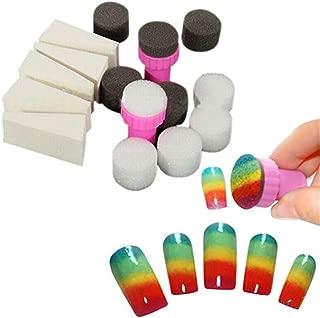 KeyZone 1 Set Nail Art Gradient Sponge Stamp Stamper Shade Transfer Template Polish Manicure Tool
