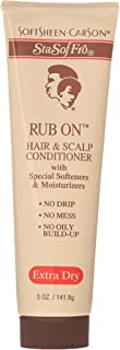 SoftSheen-Carson Sta-Sof-Fro Rub On Hair & Scalp Conditioner, Extra Dry, 5 oz