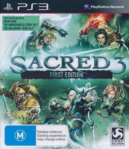 Sacred 3 PS-3 1. Edition UK (OZ) Multi [Import anglais]