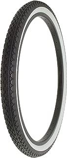 Alta Bicycle Tire Duro 26 x 2.125 Bike Thread Diamond Drizzle Style (Black/White)