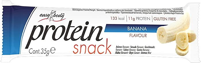 Easy Body Protein Snack Bar Banana Flavour – 24 x 35 g Bars Estimated Price : £ 29,45