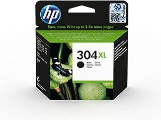 HP 304XL N9K08AE Cartuccia Originale, ad Alta Capacit?, 300 Pagine, per Stampanti a Getto di Inchiostro HP DeskJet Serie 2600, 3700 e HP ENVY Serie 5010, 5020 e 5030, Nero
