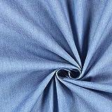 Fabulous Fabrics Jeans hellblau, 145cm breit – Jeans