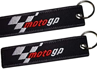 Moto GP doppelseitiger Schlüsselanhänger (1 Stück)