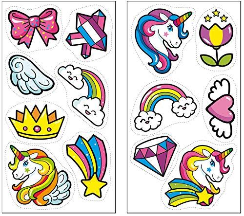 Dekora 231374 Unicornio decoración comestible para tartas y cupcakes, sin azúcar
