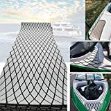 "CHURERSHINING EVA Marine Teak Decking Sheet for Boat Yacht Flooring Mat 27.5×74.8"" Rhombus Pattern (Light Gray)"