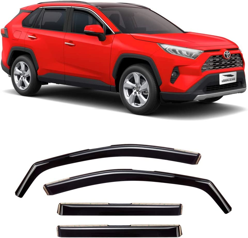 Cheap SALE Start Voron Glass in-Channel Extra Durable Guards for Rain Toyota Fixed price for sale Rav4